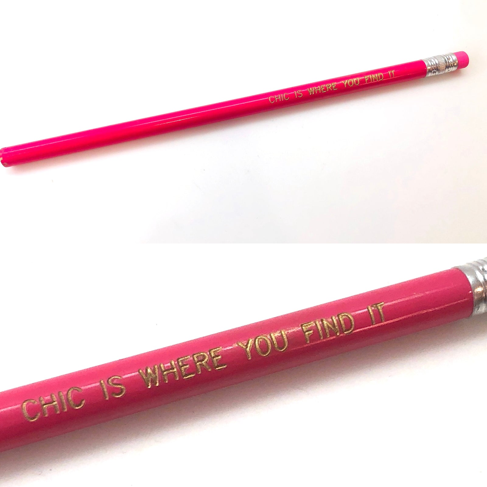 "Bonnie Pink ""Chic is Where You Find It"" Pencil"