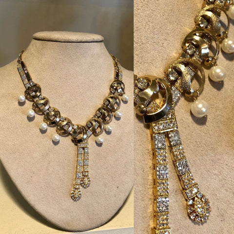 Trade Beads and 1940s Rhinestone