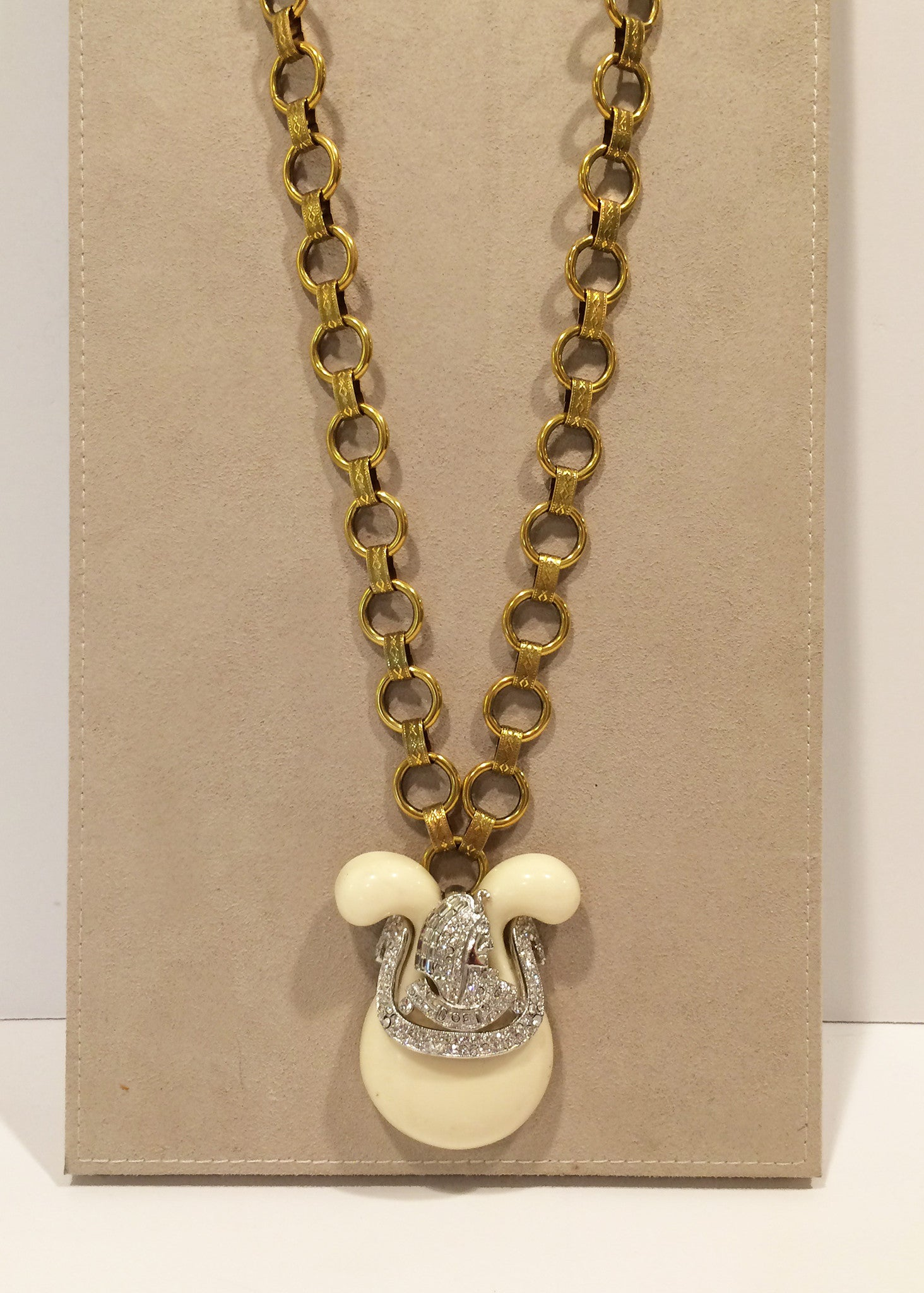 "Egyptomania Pendant (30"" long with 3"" pendant)"