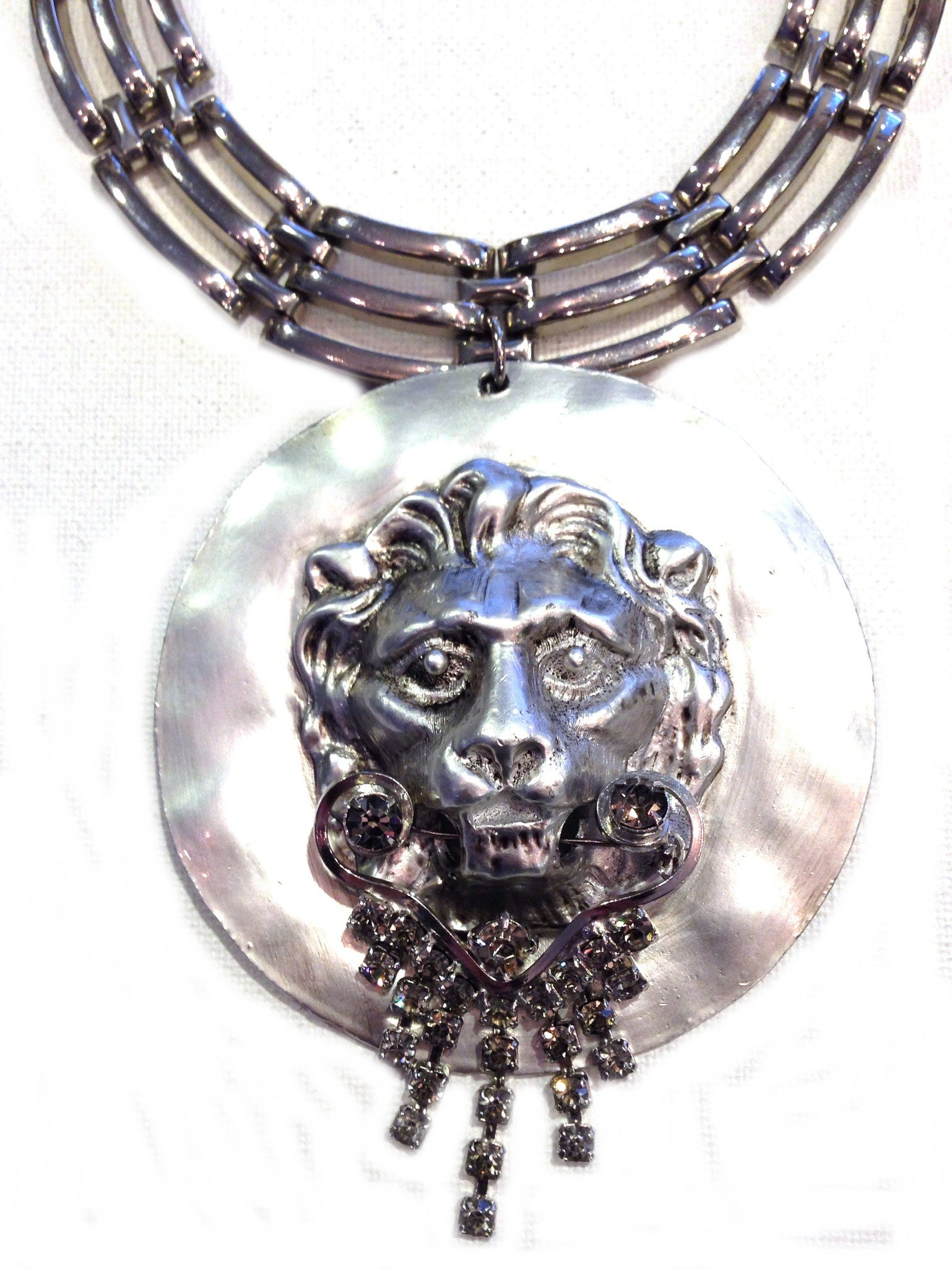 Silvered Lion