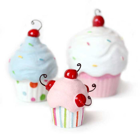 z Gift Boxes - Darling Set of 3 Cupcakes