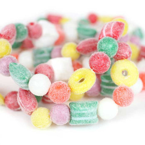 Garland of Candy Pillows, Gumballs & Marshmallow