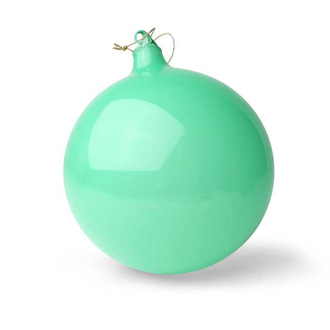 Bubblegum Glass Ball Ornament: Pacific