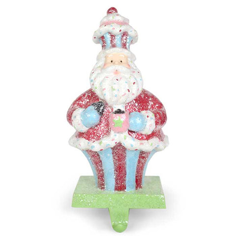 Cupcake Clause Stocking Hanger