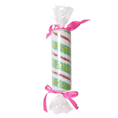 "Lime, Aqua, and Pink Peppermint Candy 9.5"" Round"
