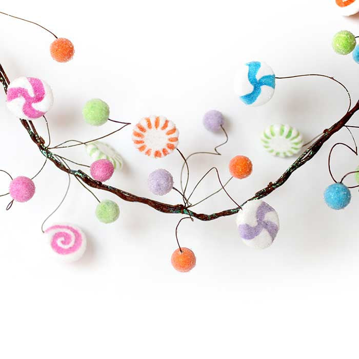 Garland - Sweetly Sugared Candy Garland