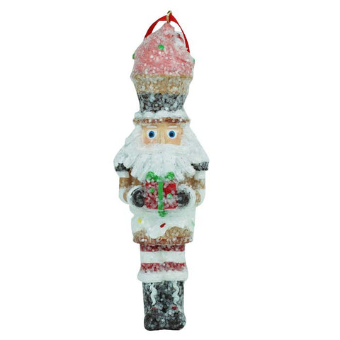 Nutcracker Strawberry Ice Cream Ornament