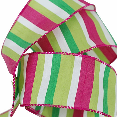 Candy Stripe Ribbon 2.5""