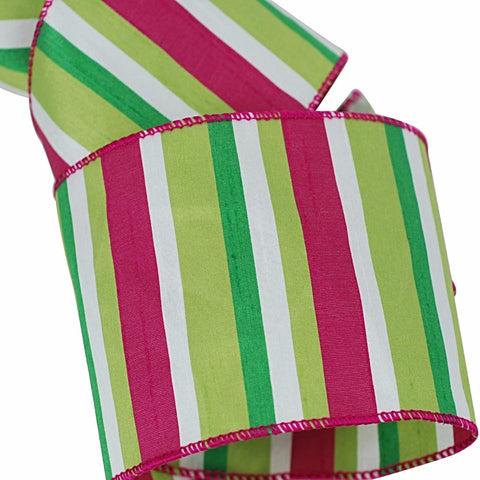 Candy Stripe Ribbon 4""