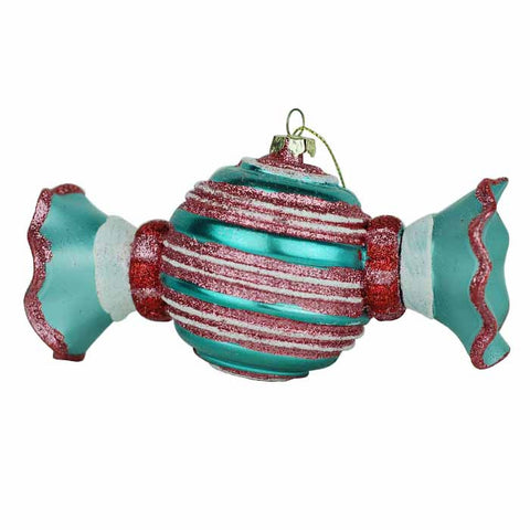 Wrapped Stripped Candy Ornament