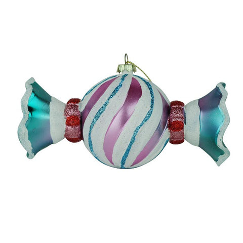 Wrapped Swirled Candy Ornament