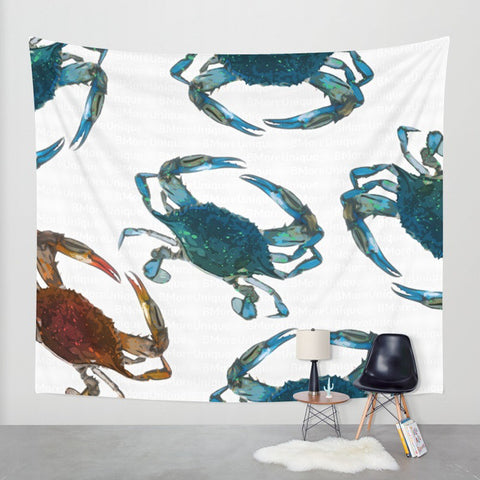 Crab Tapestry