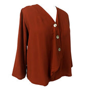 MoMA Blouse -  Orange