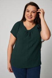 Easy Breezy Blouse - Green