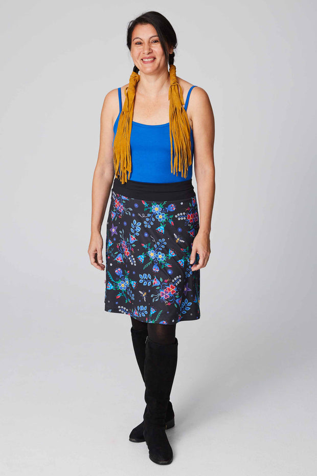 Skirt – Belcourt Bee Print