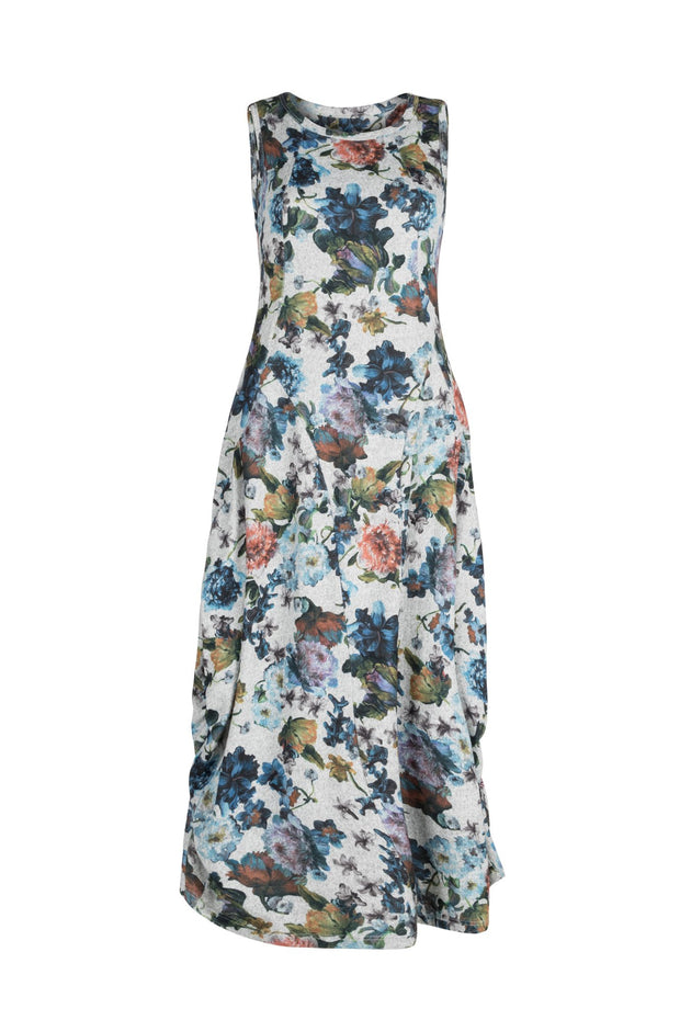 Tiger Dress - Grey Floral