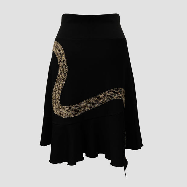 Aurora Skirt - Snake/Serpent Appliqué