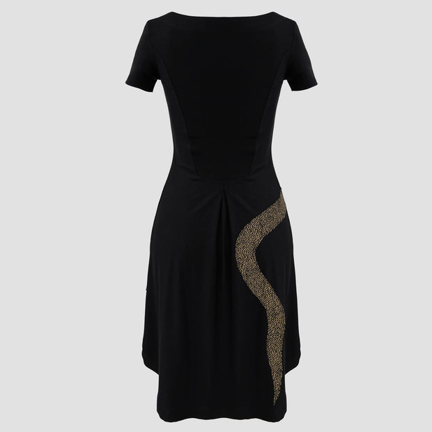 Surprise Dress - Snake Appliqué