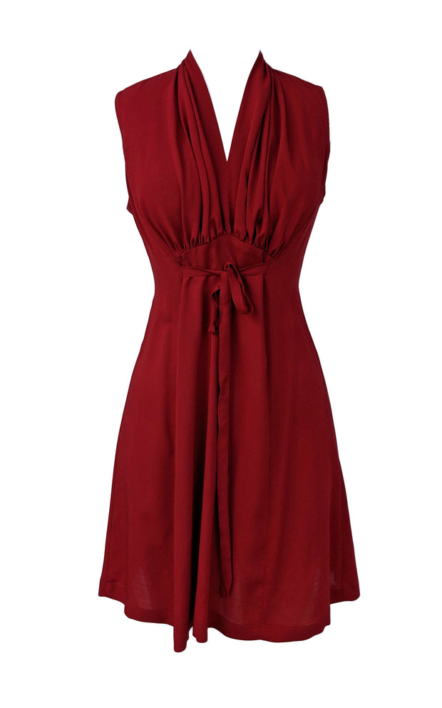 Sara Dress - Raspberry