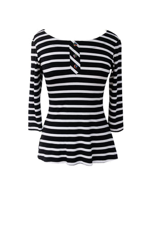 Prima Top - Black/White