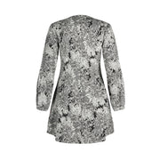 Magic Coat - Black/Grey floral