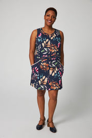 Mod Dress 2 - Navy Floral