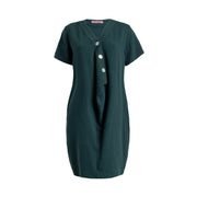 MOMA Dress - Teal  // Robe Moma - Sarcelle