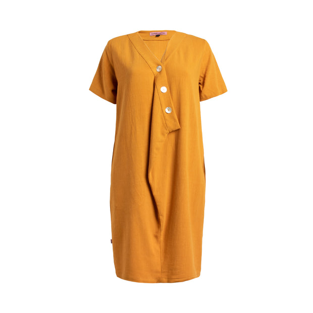MOMA Dress - Yellow  // Robe Moma - Jaune