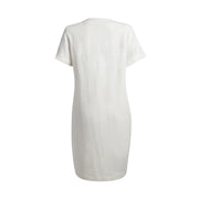 MOMA Dress - White // Robe Moma - Blanc
