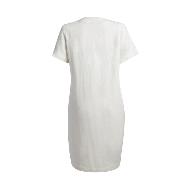 MOMA Dress - White // Robe Moma - Blanche