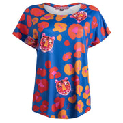 Loose Fit T-Shirt - Tigress Royal