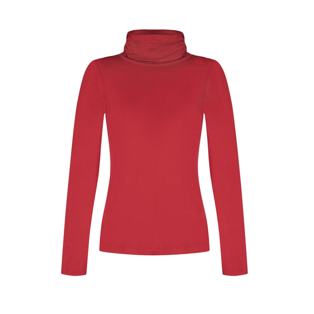 Perfect Turtleneck - Red
