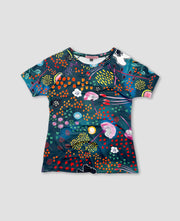 Raglan T-Shirt - Night Garden
