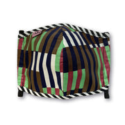 Kids+Teen Mask - Stripes // Masque Enfants+Ado -rayures [par/by Vlisco]