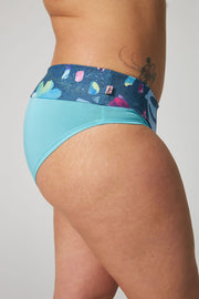 Panties -  Light Blue