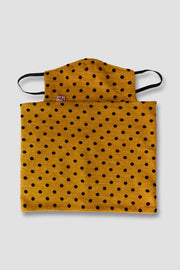 Neck warmer/mask for children - Yellow