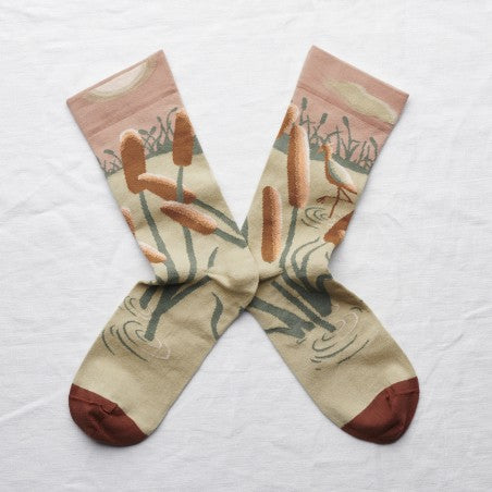 Chaussettes Ibis Nude // Socks Nude Ibis