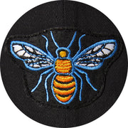 Belcourt Embroidered Bee Runners Tuque - Black