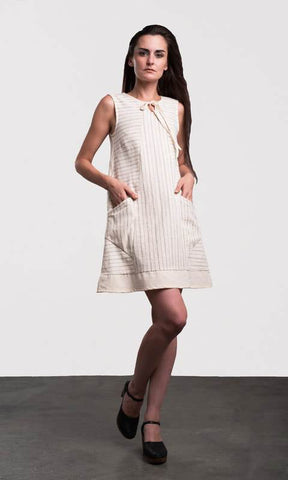 Intarsia Pattern Dress