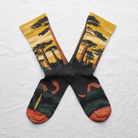 Chaussettes Baobab Bouton d'Or // Socks Butter Cup Baobab