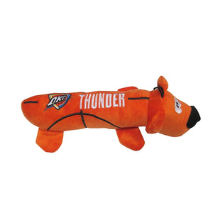 Oklahoma City Thunder Plush Tube Pet Toy