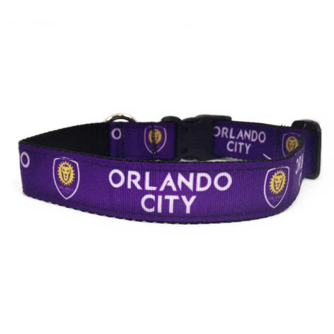 Orlando City SC Pet Premium Collar