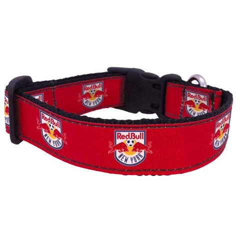New York Red Bulls Pet Premium Collar