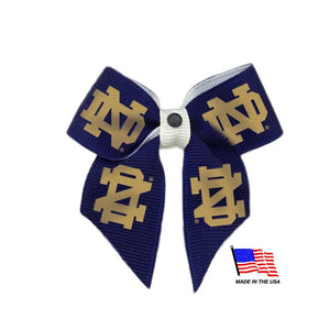 Notre Dame Fighting Irish Pet Hair Bow