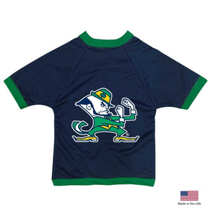 Notre Dame Leprechaun Athletic Mesh Pet Jersey