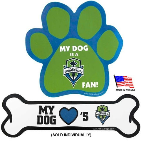 Seattle Sounders Car Magnets