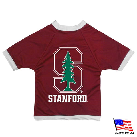 Stanford Cardinal Athletic Mesh Pet Jersey