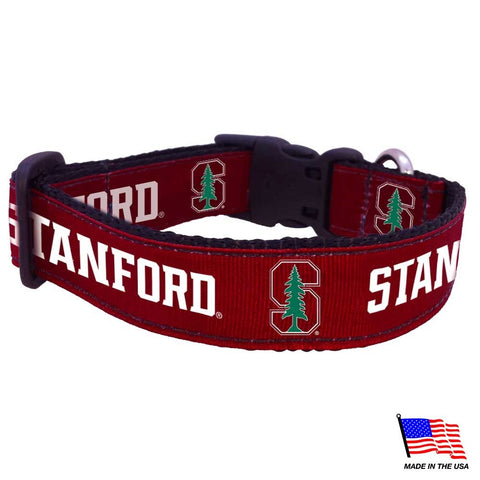 Stanford Cardinal Pet Collar