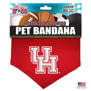 Houston Cougars Pet Bandana