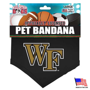 Wake Forest Demon Deacons Pet Bandana